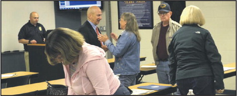 LaGrange Police Department Citizens Academy Learn Felony Court Procedures