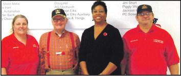 "Elks Lodge Hosts ""Feed  The Veterans"" Luncheon"