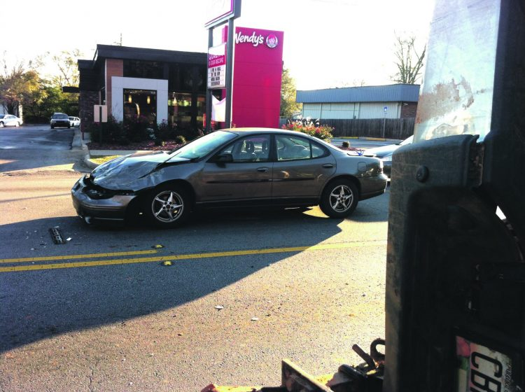 No Serious Injuries In  Vernon Street Accident