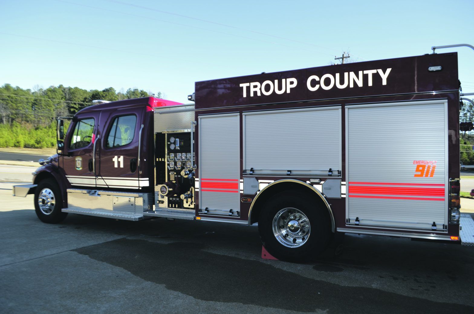 Troup County Opens Fire  Station 11 In Hogansville