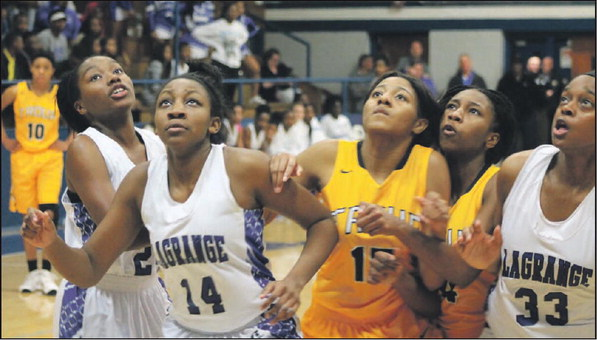 Lady Grangers Shoot Past Troup