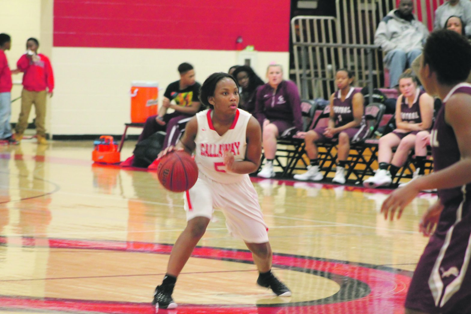 Lady Cavaliers Rough Up  Central Carrollton, 56-36