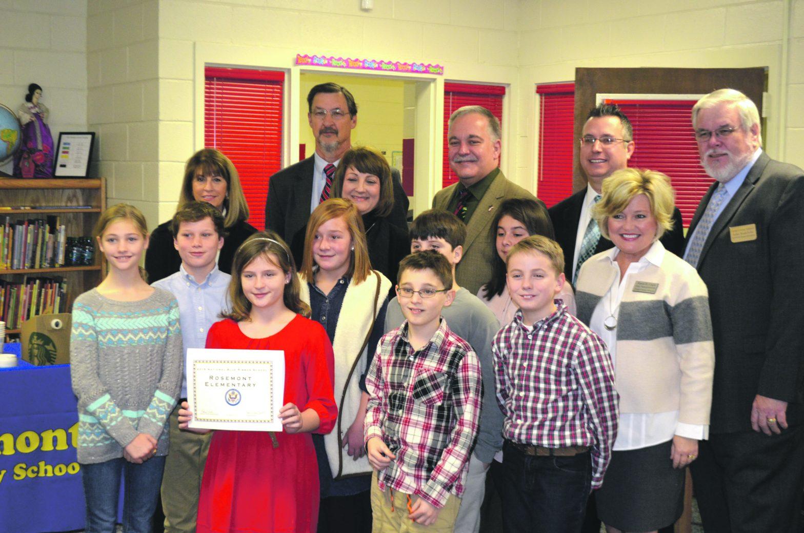 Rosemont Receives Blue Ribbon Certification
