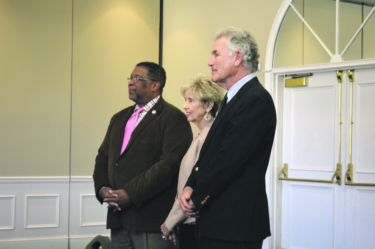 Retired Teachers Host  Luncheon Featuring Ricky  Wolfe And Carl Von Epps