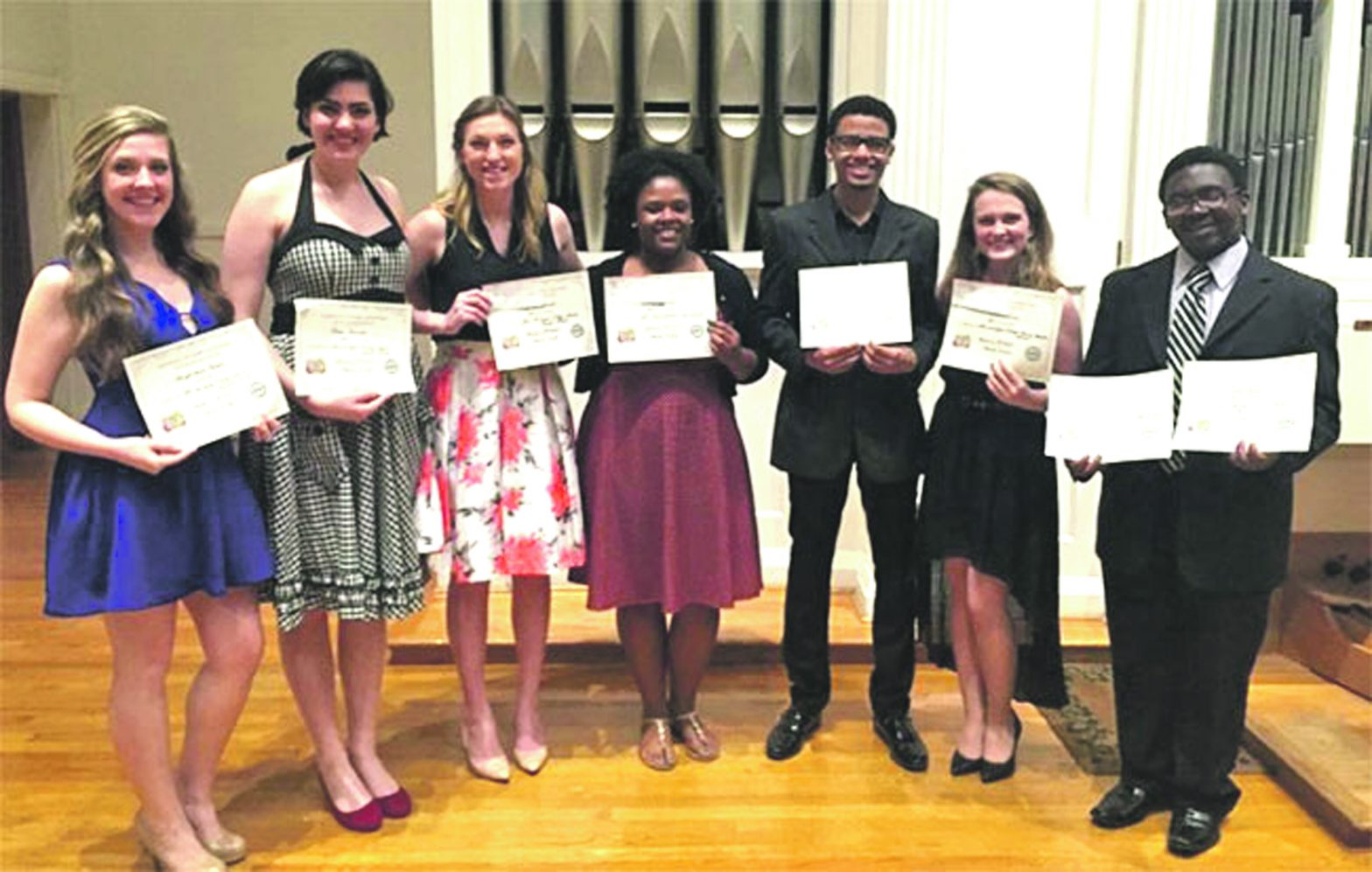 LaGrange Vocalists Shine At Competition