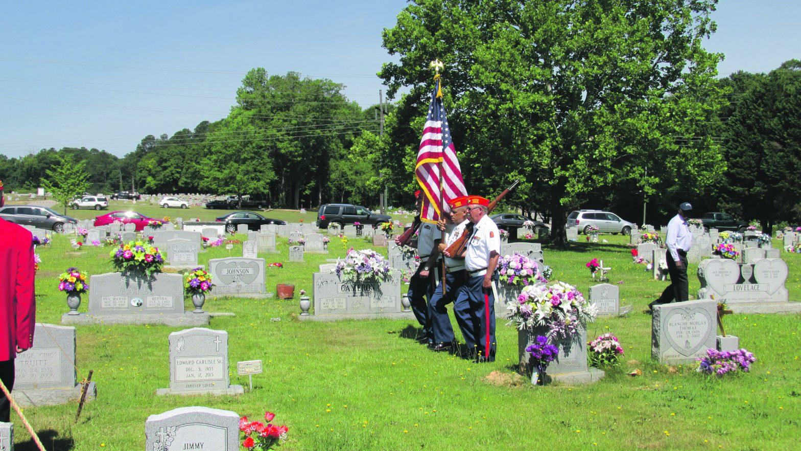 Southview Cemetery Hosts  Veteran's Memorial Service
