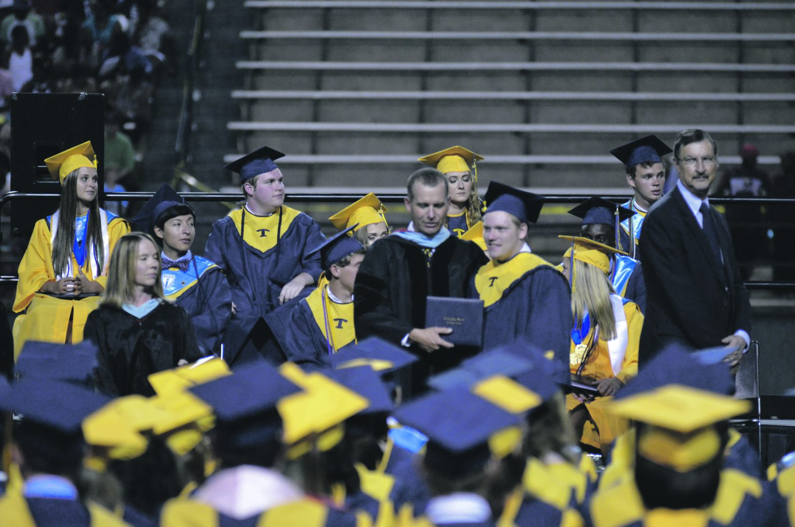Troup High  Student Austin  Noles Beats  The Odds For  Graduation