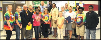 Local & State Dignitaries Get The Big Bucks When Visiting Two Troup County Schools
