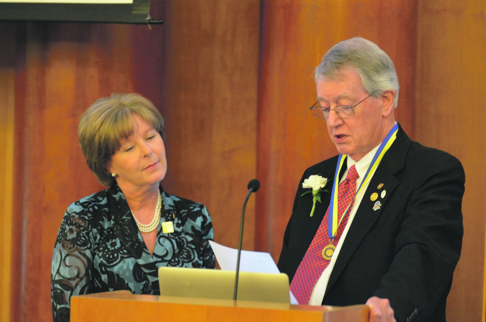 Rotary Pick Rotarian Of The Year  And Honors The Late Tom Hall