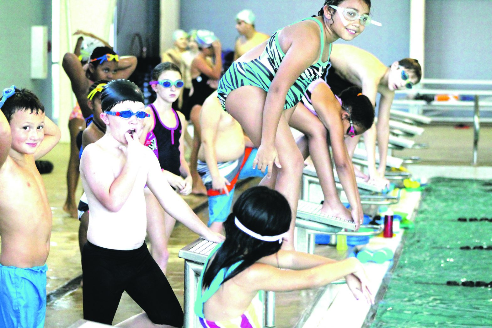 Influx Of New Swimmers Are  Revitalizing Junior Sharks