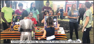 Panther Pride Continues At LaGrange College's Fall Festival