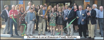 Hometown Family Medicine Holds  Ribbon Cutting And Grand Opening