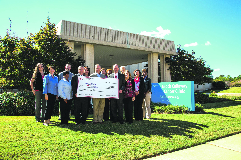 Kia Motors Manufacturing Georgia Contributes  $50,000 To Enoch Callaway Cancer Center