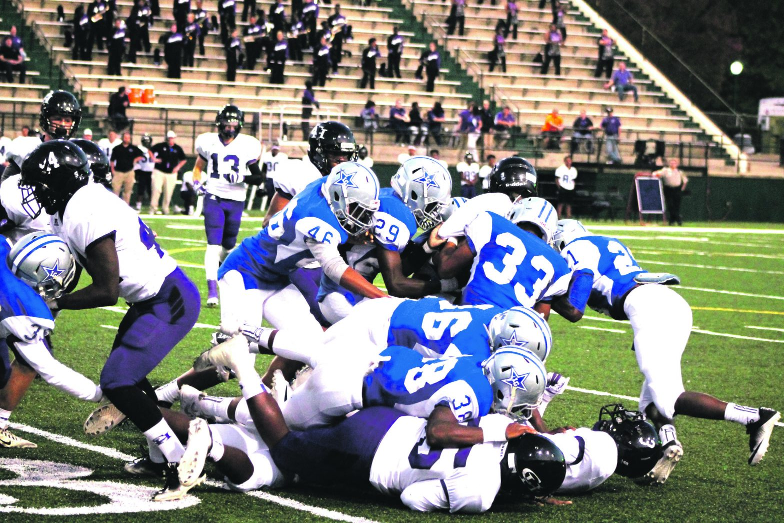 Grangers Pour Out Their Hearts  In 26-24 Setback To Chapel Hill