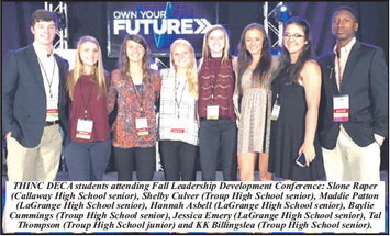 THINC DECA Students Participated In Leadership Conference