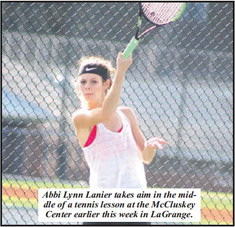 Lanier, Wilkerson Are Looking For The Next Tennis Level