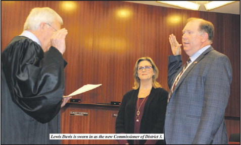 Cadenhead, Davis, And  Jones All Sworn In As  County Commissioners