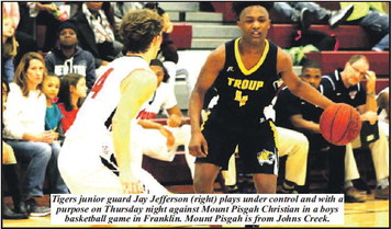 Troup Steps Up, Knocks Down Mount  Pisgah, 80-78 In Four Overtimes