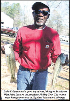 Reel Time: Crosby Wins American  Fishing Tour Championship