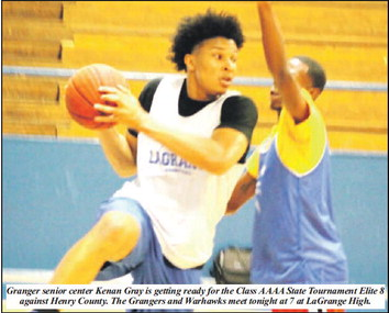 """Fanning: """"Our Team Is Better,""""  Grangers Face Henry Co. In Elite 8"""
