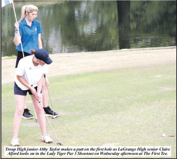 Troup Golfers Chip Away  For Third Place Finish