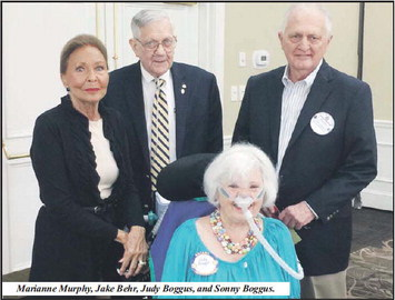 Rotary Honors Judy Boggus  And Hosts Housing Authority
