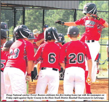 Troup All-Stars Shine With 9-1 Win Over Taylor County