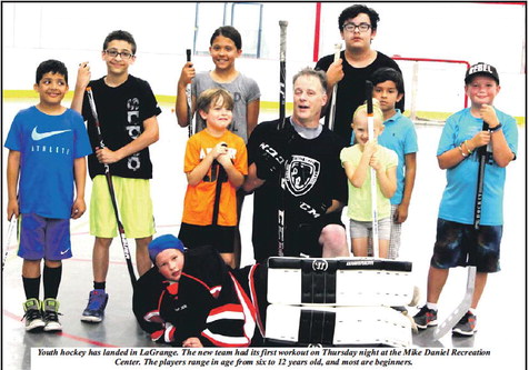 LaGrange Youth Hockey Team Builds A  Foundation With Nine Players