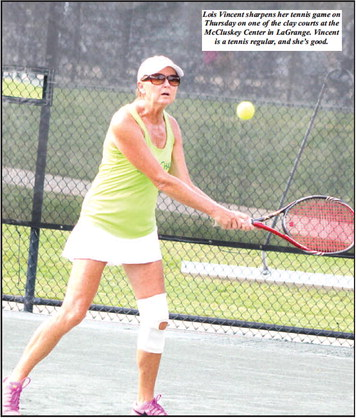 McCluskey, LaGrange College Are  Bracing For Tri-Level State Tennis