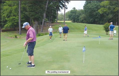 Lions Club Hosts their  Annual Golf Tournament and Raffle Fund Raiser