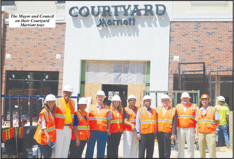 Mayor and Council Tour  Downtown Hotel