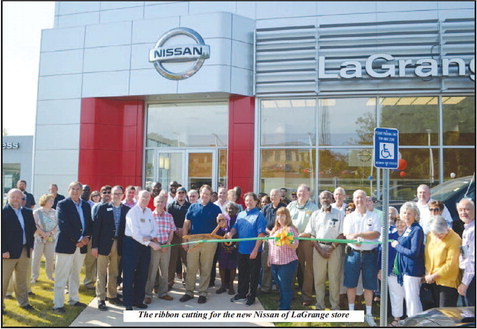 Nissan of LaGrange Holds  Ribbon Cutting at New Facility