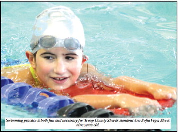 With Every Swim Practice,  Gudgin Learns Something New