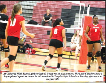 Harris, Lady Cavs Are Improving,  Spiking, But They Lose Two More