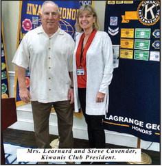 Kim Learnard Presents an  Informative Program