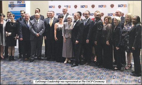 LaGrange Police Chief Sworn  in as IACP President