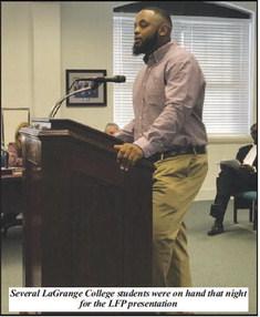 City Council Hears Presentation on Little Free Pantry Program