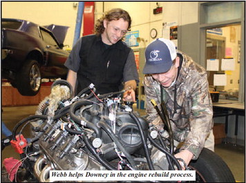 Automotive Service Course at Troup High Puts  Students in Jobs While in High School