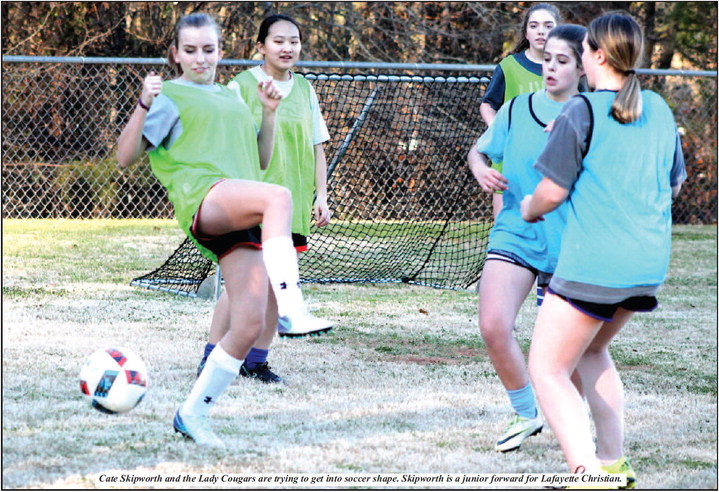 """Lady Cougars Search For Team Chemistry;  Katie Belle Oliver: """"We have a lot of potential."""""""