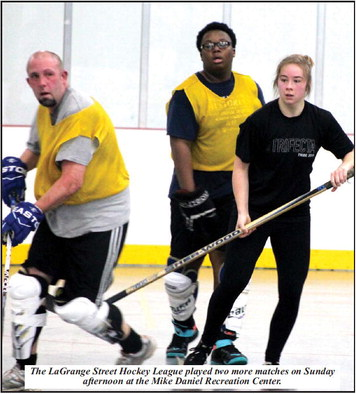 "Street Hockey League Is Catching On;  Cunningham: ""The players keep coming back."""