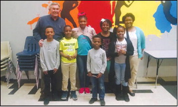 The Kiwanis Club of West Point Introduced the TERRIFIC   KIDS Program to the Kids of C.A.R.E.S