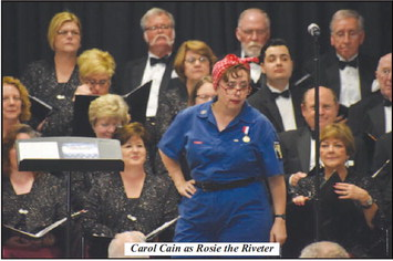 Choral Society of West Georgia Hosts Victory through Harmony: Songs that Won the War