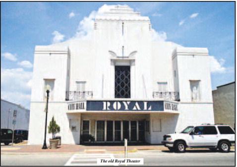 City of Hogansville Considers Royal Theater Restoration