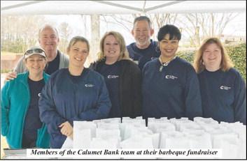 Calumet Bank Holds BBQ Fundraiser