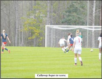 Callaway Soccer Faces Lamar County