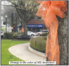 MS Awareness: Paint the Town Orange