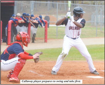Callaway Baseball Takes Down Lamar County:  Cavaliers Dominate in 10-0 Victory