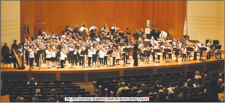 Music Comes Alive at the 2018 LaGrange Symphony   Youth Orchestra Spring Concert