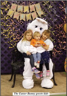 Clearview Baptist Church Holds Easter Egg Hunt and Easter Celebration