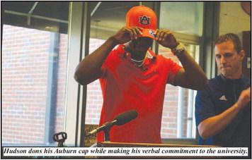 FOOTBALL: Kobe Hudson of Troup Makes Verbal   Commitment to Auburn